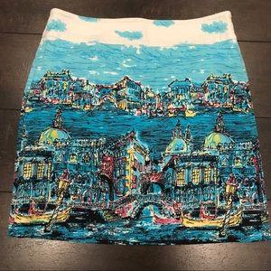 Talbots Venice skirt